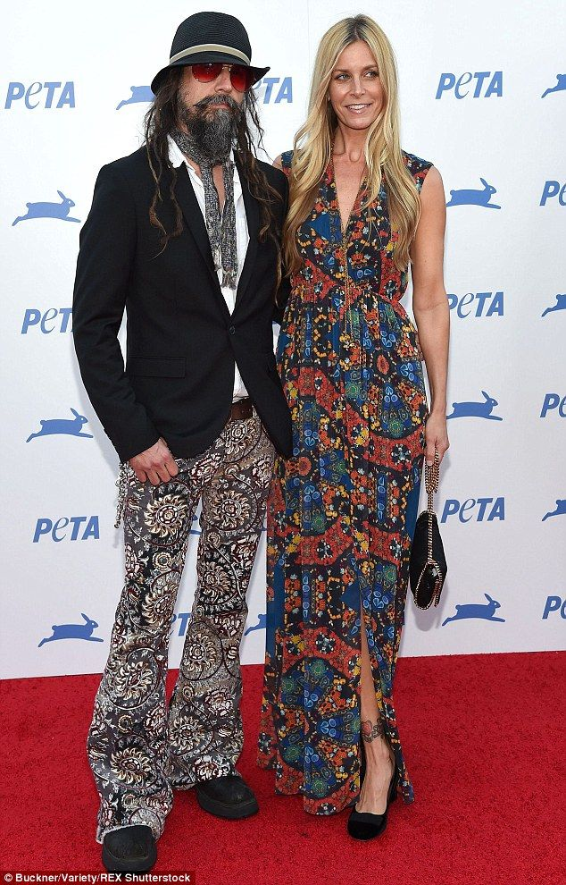 Animal lovers:  Producer Rob Zombie and his wife Sheri Moon brought their eclectic fashion...
