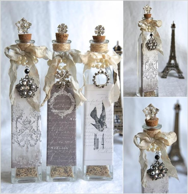 Cool Ways to Decorate Glass Bottles 10