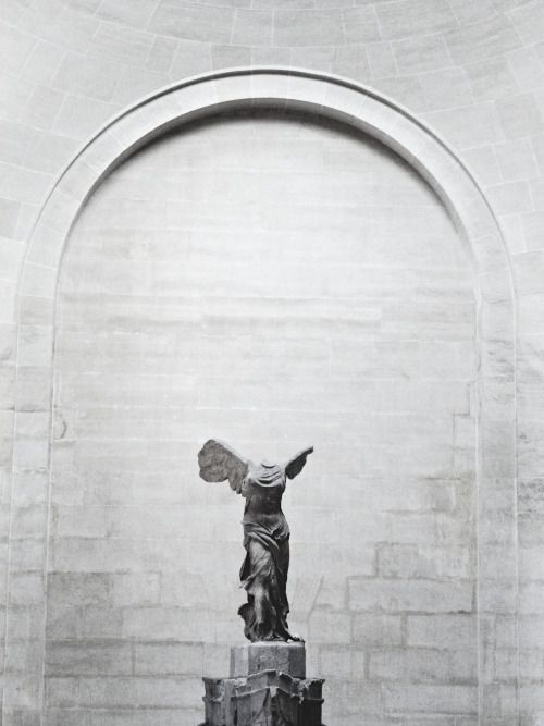 The Winged Victory of Samothrace, also called the Nike of Samothrace, is a 2nd-century BC marble sculpture of the Greek goddess Nike.