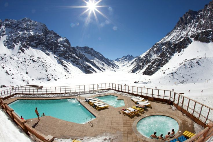 What better way to unwind after a long day on the mountain than watching the Andean sunset from the warmth of our heated outdoor pool or Jacuzzi