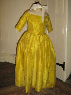 All The Pretty Dresses: 18th Century Precious Little's Girls Gown