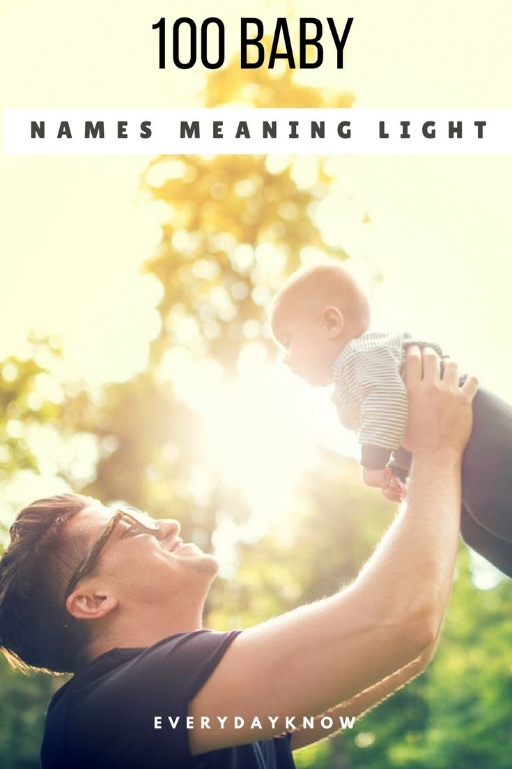 100 Baby Names Meaning Light