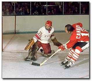 Vladislav Tretiak- one of the best netminders in history. Came up short against the USA in 1980 though...