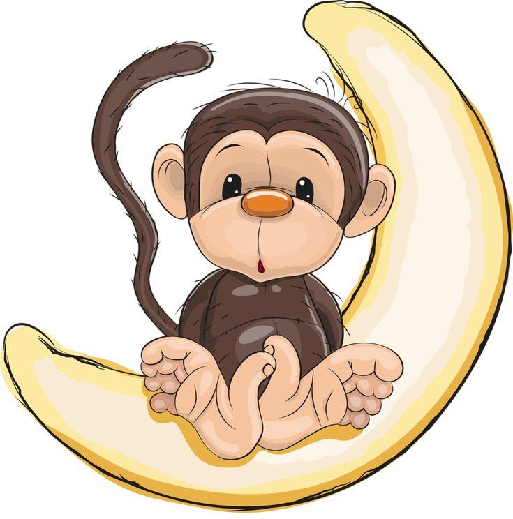 Первоклашке, картинка из мультиков прикольной обезьянки