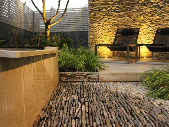 Limestone, Trough Daniel Shea Contemporary Garden Design Norfolk, ...