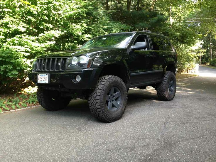 """Superlift 4"""", OME HD coils up front, with one coil cut. 2 inch spacer in the rear and Bilstien 5125's on all 4 corners."""