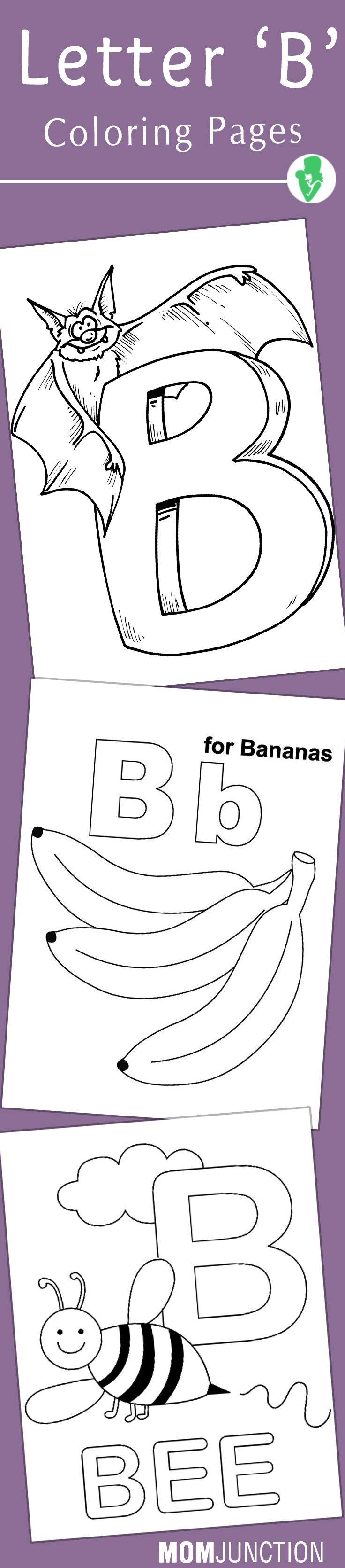 Letter b coloring pages for preschoolers - Top 10 Free Printable Letter B Coloring Pages Online