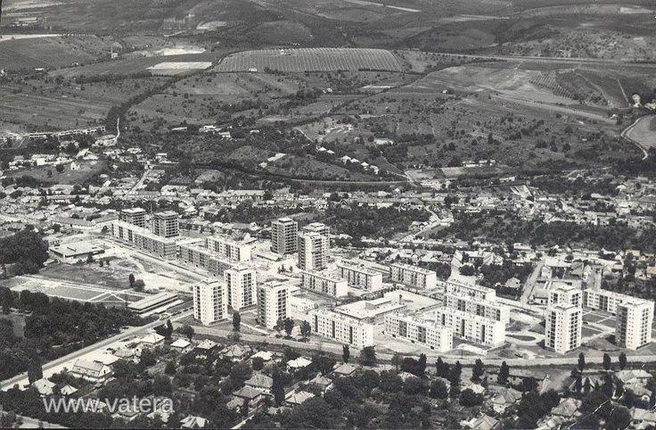 1969. Eger, Hadnagy úti lakótelep
