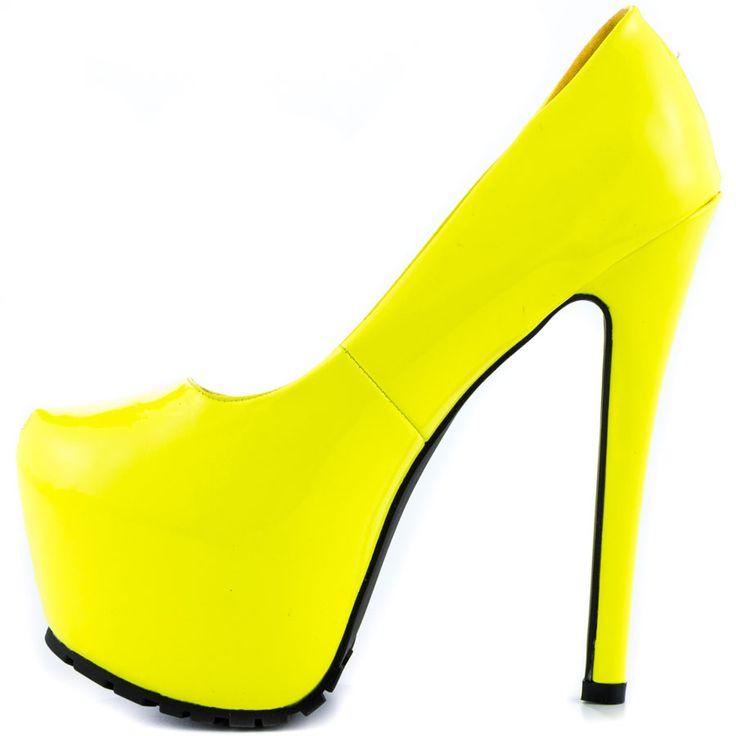 Catherine - Neon Yellow  Privileged $54.99