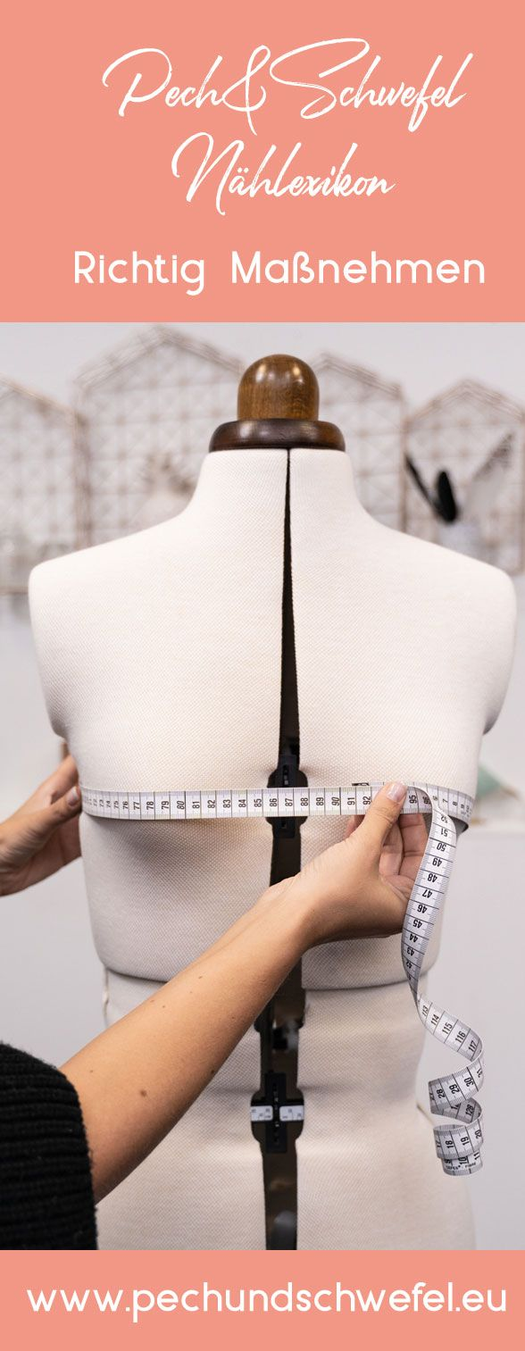 "Pitch & Sulfur Sewing Reflection: Part 1 – Properly Taking Measurements, Body Measurements Table, Ready Measure Chart and ""The Purchase Size""   – DIY  – Nähen & co."