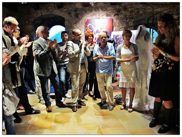 Inaugurazione della mostra d'arte VOLI LIBERI