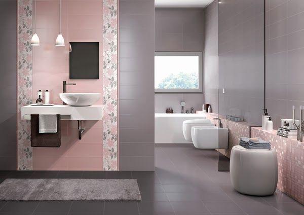 Resultado De Imagen Para Bano De Mujer Decoracion Bathroom Tile Designs Green Bathroom Kids Bathroom Design