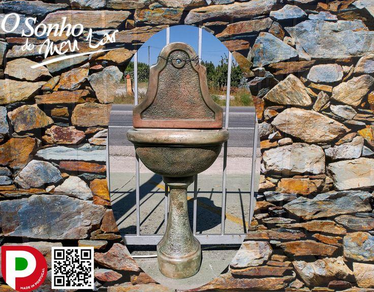 FONTE PEQUENA DE ENCOSTAR (cimento)