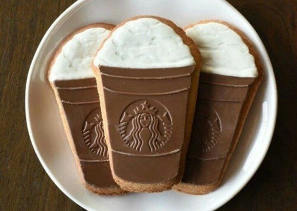 starbucks, cookies