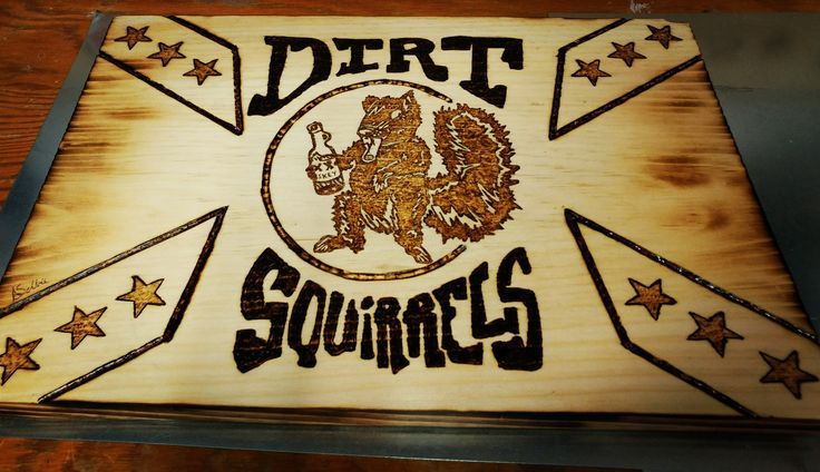 #dirtsquirrels #pine #woodburning #pyrography #mancave #woodporn