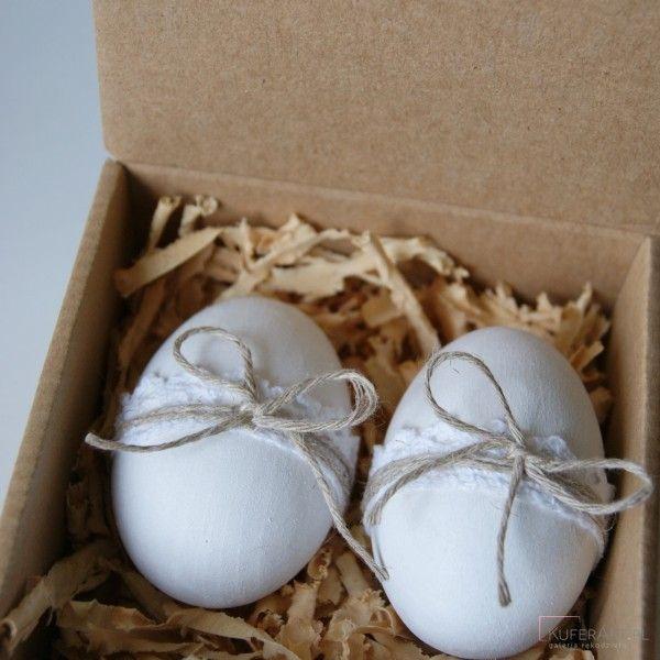 Komplet dekoracyjnych jajek