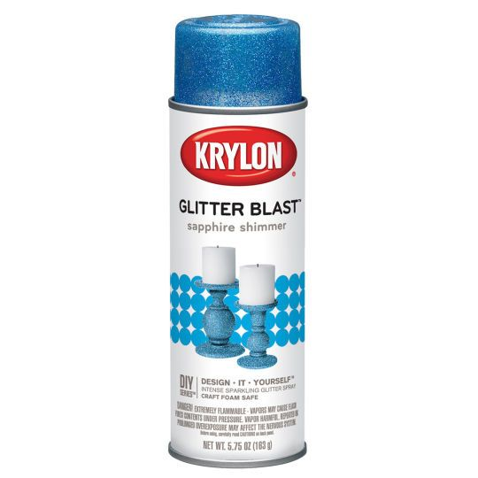 <div>This specialty spray paint takes glitter to the next dimension, making it easy to get an ir...
