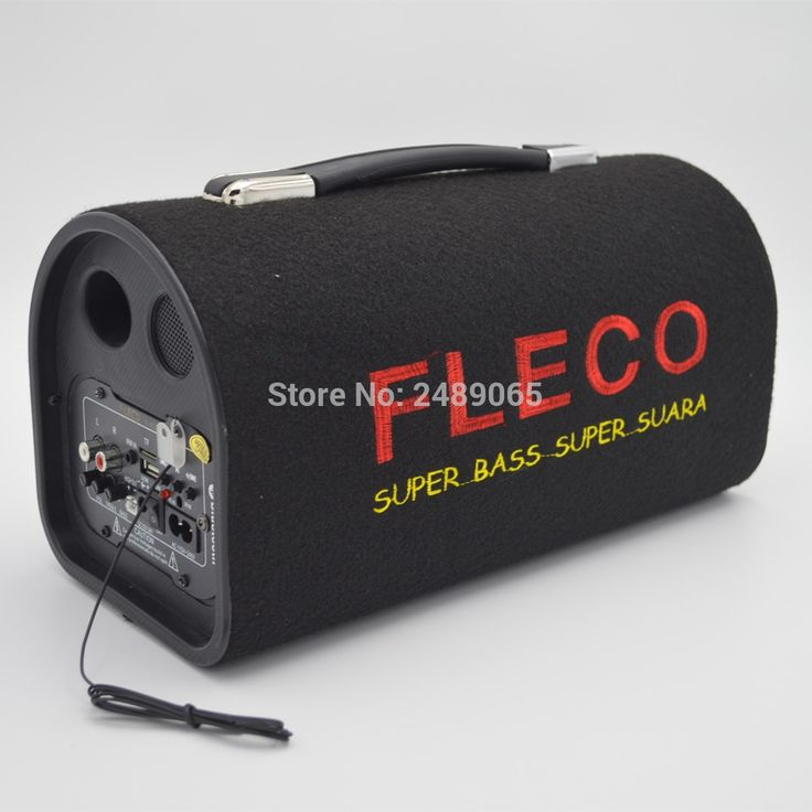57.70$  Watch now - http://aiapd.worlditems.win/all/product.php?id=32761817448 - 5 inch Tunnel car subwoofer 12v 220v car stereo speaker portable bluetooth speaker