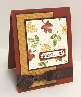 Falling Leaves CASE by LorriHeiling - Cards and Paper Crafts at Splitcoaststampers