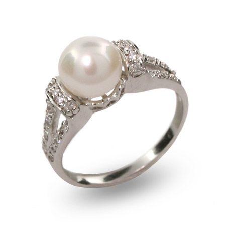 Dortheas #Vintage Style Freshwater #Pearl Ring $34 #pearls