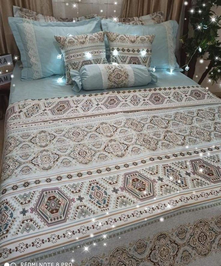 تفضلي شوفي أجمل الموديلات مفارش السرير 2020 عرايس 2020 موديلات افرشة سرير Luxury Bedspreads Bed Linens Luxury Bed Cover Design