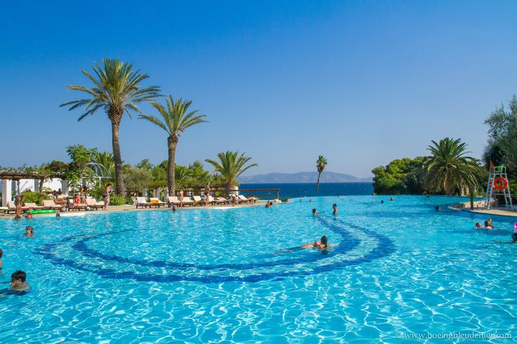 Blissful relaxation in Greece, our first all-inclusive vacation