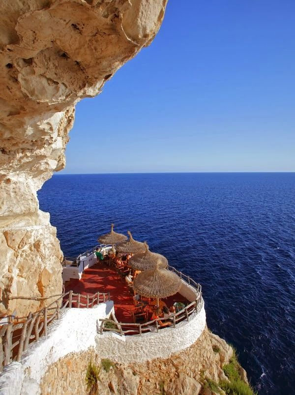 Photo Place: Seaside Cafe, Menorca, Spain