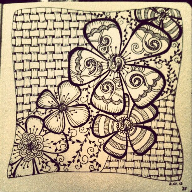 My Zendoodle 365-project, day 77 by Nadik