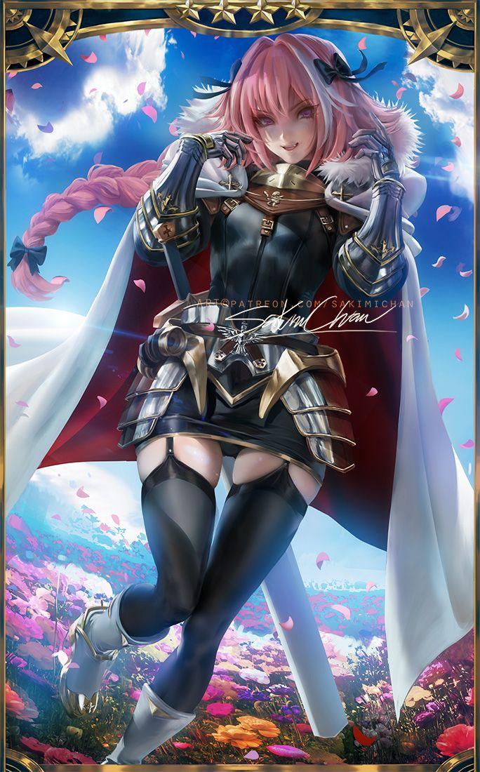 Astolfo .GFO. by sakimichan  Anime, Art, Anime fan
