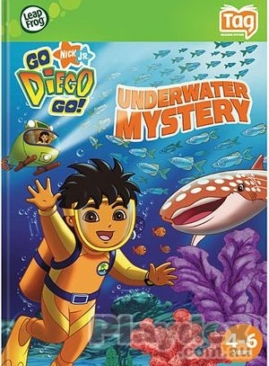 LeapFrog: Tag: Nick JR. Go Diego Go!: Underwater Mystery Age: 4 - 6 Years Old Language: English UPC: 708431390249