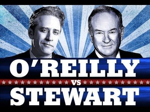 The Rumble 2012 - Jon Stewart vs. Bill O'Reilly - YouTube.... Some swears but good clips to use for debates - definition of socialism, healthcare, disability/overuse of social welfare, etc.