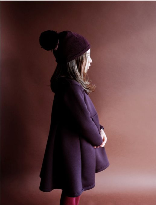 Flared lines and a new bobble hat from Wolf and Rita kidswear for fall 2015