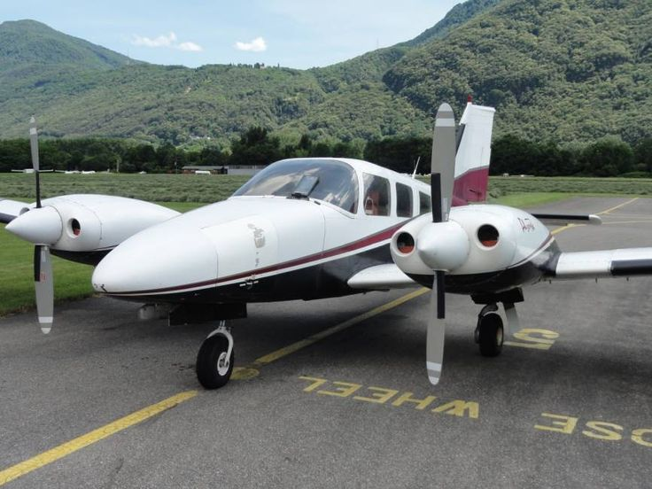1978 Piper PA-34-200T Seneca II for sale in (LSZL) Locarno, Switzerland => http://www.airplanemart.com/aircraft-for-sale/Multi-Engine-Piston/1978-Piper-PA-34-200T-Seneca-II/9784/
