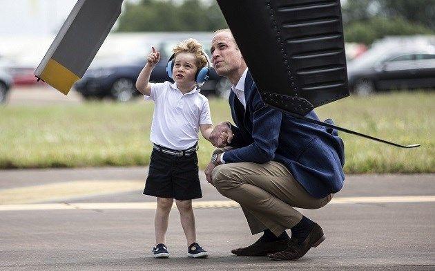 Van dit opvoedingstrucje van prins William kunnen we iets le... - Het Nieuwsblad:…