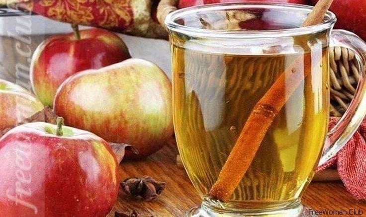 Яблочная вода с корицей!-min