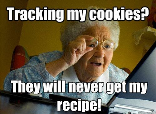Tracking my cookies?!