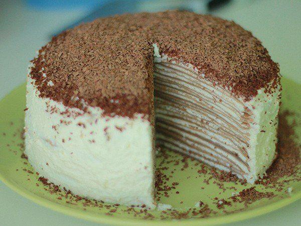 Рецепт блинного торта. . Блинный торт с кремом. by rukremov - prz1W4jaSBA