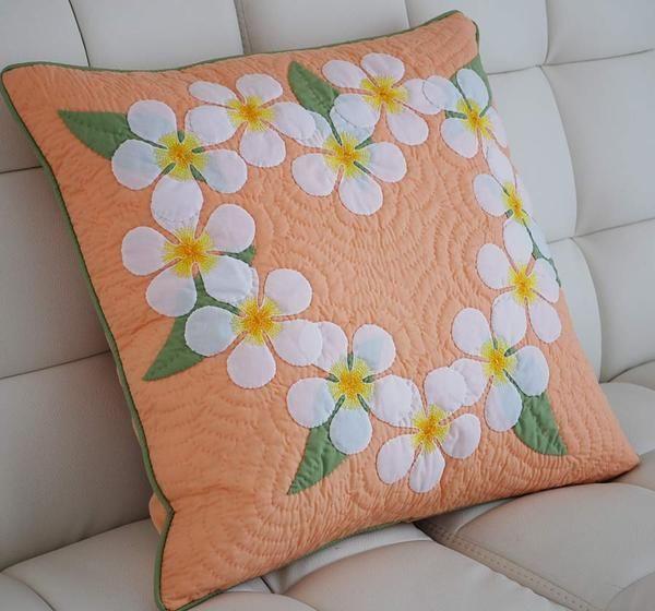 296 best images about Almofadas on Pinterest   Applique pillows ... : hawaiian quilt pillow covers - Adamdwight.com
