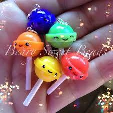 fimo clay lollipops