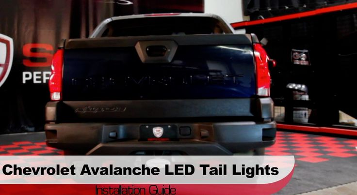 53 best avalanche 2004 1500 images on pinterest electrical cable this video features a walkthrough of how to install a set of spyder auto led tail lights on chevrolet avalanche crossover truck fandeluxe Image collections