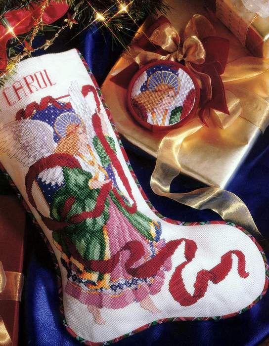 379 best Nativity stocking - Sapatinho de Natal images on ...