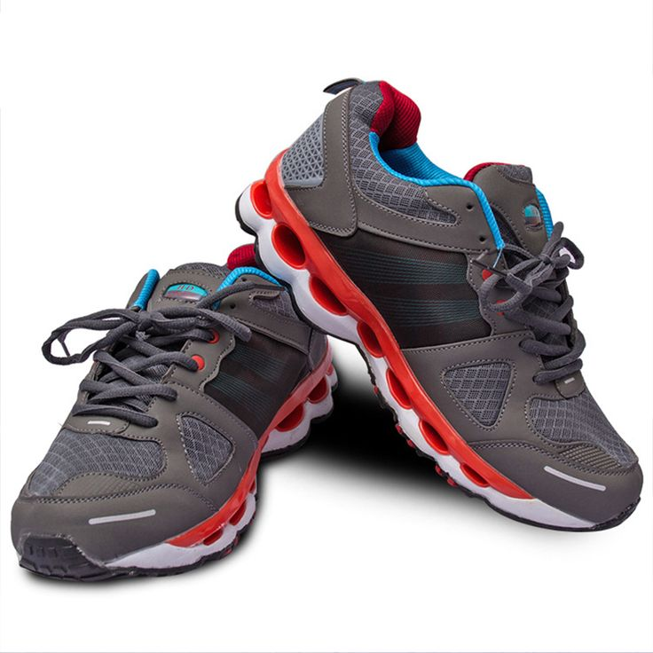 Men's Lightweight Road Running Shoes Fish Scales No Tie Air Mesh Breathable Outdoor Sport Soft Athletic Sneakers