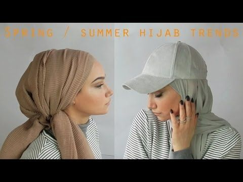 Spring summer Hijab trends - YouTube