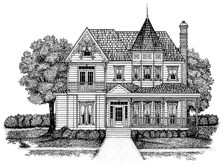 Queen Anne House Plan With 2440 Square Feet And 3 Bedrooms From Dream Home Source