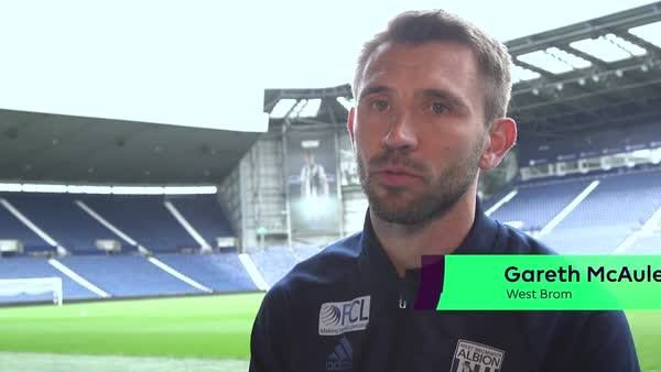 """""""My shinpads are older than Kane Wilson!""""   Age is no barrier for West Bromwich Albion defender Gareth McAuley..."""