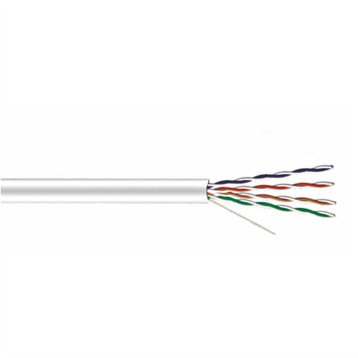 Информационный кабель Satvision Plexus Utp data cable 4PR 24AWG CAT 5E version Standart type B Plexus Utp data cable 4PR 24AWG CAT 5E Информационный кабель UTP data cable 4PR 24AWG CAT 5E Plexus - четыре медных провода, попарно скрученных между собой, с различным шагом скрутки. Изоляция жил оболочкой из ПВХ, внешняя оболочка кабеля из ПВХ серого цвета. Материал проводника алюминий плакированный медью CCA. Толщина сечения жилы-0,43 мм.Цена за 1 м.  7.00 р…