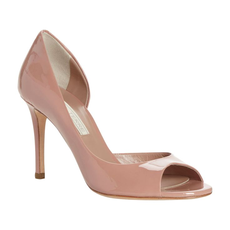 Blush Pink Trend - Carland Shoes, £140, Pied A Terre