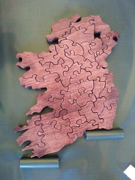 Prodotti - O'Flanker.com -  Puzzle Mappa Irlanda