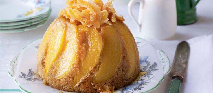 Yan's Mango Fruit Hat Pudding | The Great British Bake Off