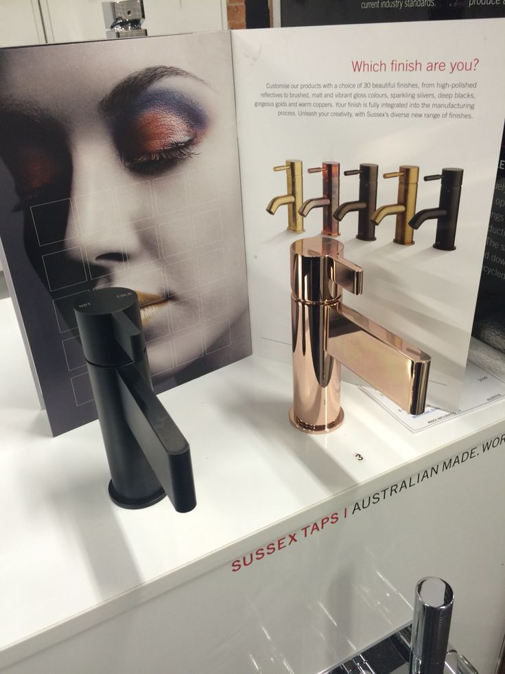 New Sussex tapware stand is now on display in our showroom, with the calibre matte black and rose gold finish. Australian made, quality Tapware, 15yr warranty. Huge range of finishes and colours available.